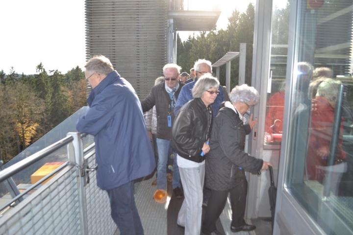 Besuch der Mühlenkopfschanze